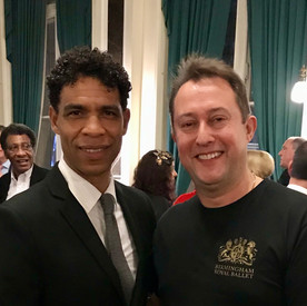 with Carlos Acosta, the new Director of Birmingham Royal Ballet