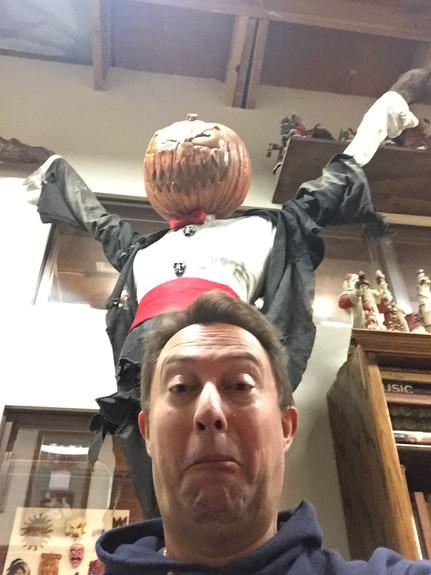 'Nightmare' in Chris's studio