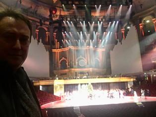 at the Royal Albert Hall with Birmingham, Royal Ballet