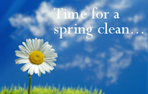 Spring is Nearly Here...! Tips for Spring Cleaning your Home.