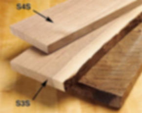 eastern forest products custom moulding S3S lumber