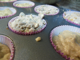 Allspice Streusel Topped Muffins