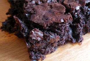 Dark Chocolate Cherry Chipotle Brownies