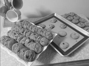 Fumee de Sel Chocolate Chip Cookies