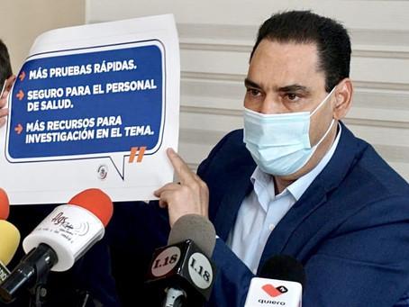 EXIGE TOÑO MARTÍN DEL CAMPO INFORMACIÓN CLARA Y CONCISA SOBRE VACUNA PARA COVID-19