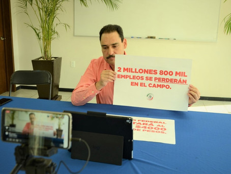 BUSCA TOÑO MARTÍN DEL CAMPO FRENAR RECORTE DE 4 MIL MILLONES DE PESOS AL CAMPO