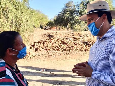 REALIZA TOÑO MARTÍN DEL CAMPO GIRA DE TRABAJO POR MUNICIPIOS DEL INTERIOR