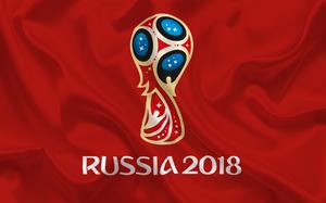 affiche FIFA de la coupe du monde de football 2018