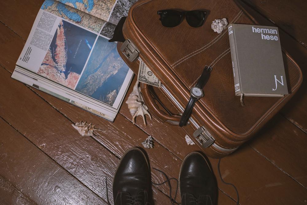 valise avant un voyage