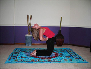 Camel Pose: Ustrasana Opening your heart to grace