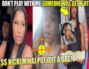 Nicki Minaj wants to pay a HITMAN $50,000 for a job lol