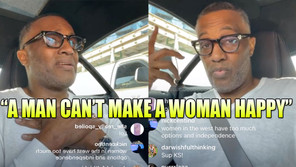 KEVIN SAMUELS SAID IT'S IMPOSSIBLE TO MAKE A WOMAN HAPPY!
