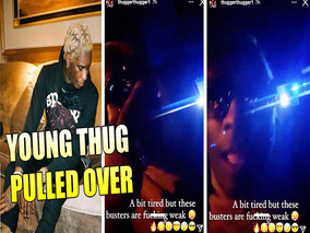 Rapper Young Thug was PULLED OVER by Cops