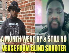 Blind Shooter FAILED to drop BARS after saying Pocketfullaloot's verse wasn't the hottest