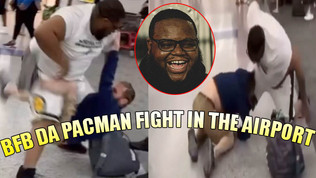 BFB DA PACMAN FIGHT IN THE AIRPORT