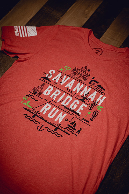 Savannah Bridge Run Short Sleeve