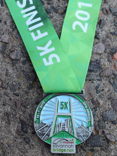 5K 2019 Finisher Medal