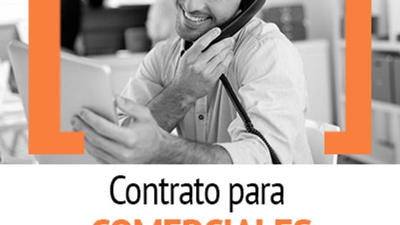 CONTRATO INDEFINIDO PARA COMERCIALES