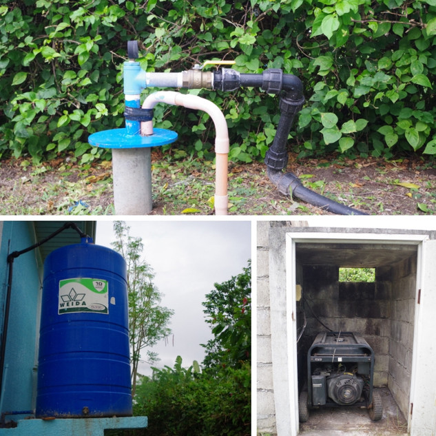 Your Own Water Tank and Generator