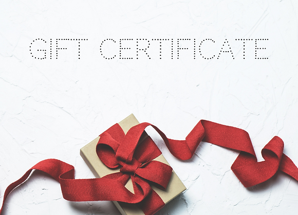 Gift Certificate - Guitar Lessons