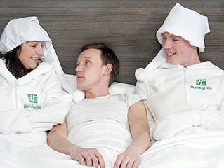 Holiday Inn Goes The Extra Mile With Human Bed Warmers