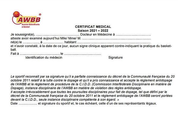 Certif médical 2021-2022.JPG