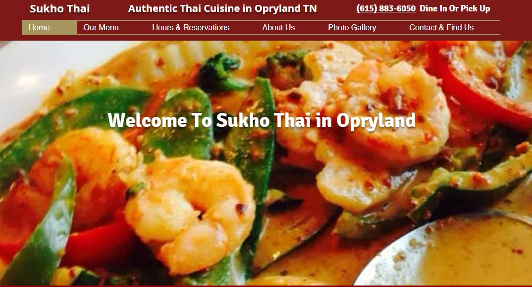 Sukho Thai Nashville TN