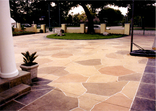 Decorative Concrete Driveways
