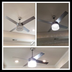 Lighted Ceiling Fans Are Great