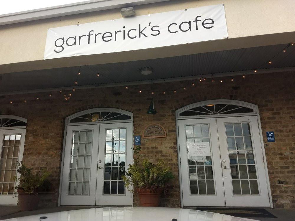 Entrance To Garfrerick's Cafe