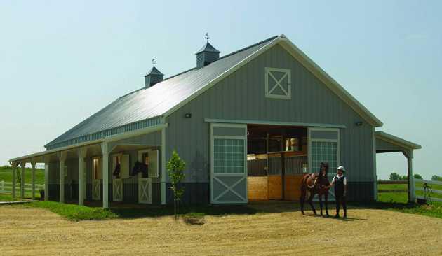Custom Poll Barns By RLS Builders