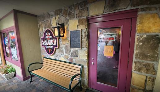 Sandwich shops in Gatlinburg serving New Orleans and Cajun food