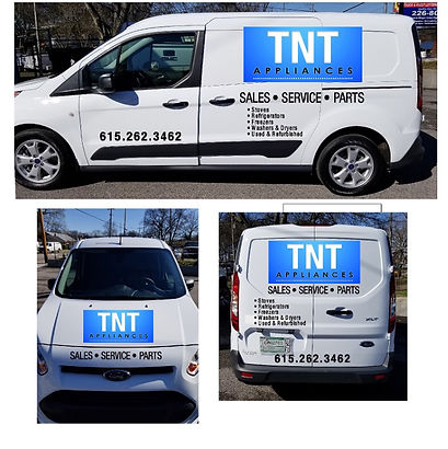 Contact TNT Used Appliances in Nashville TN For All Your Appliance Sales, Service and Parts Needs