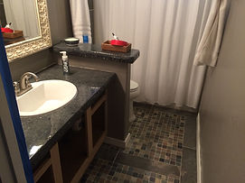 Panama City FL Custom Bathroom Stone and Tile Work