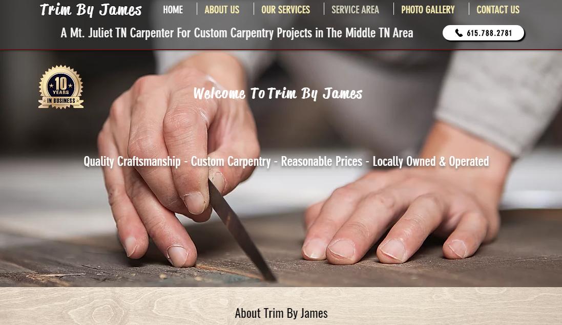 Trim By James Carpentry