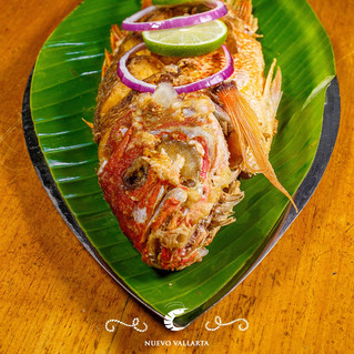 Try our whole fried fish