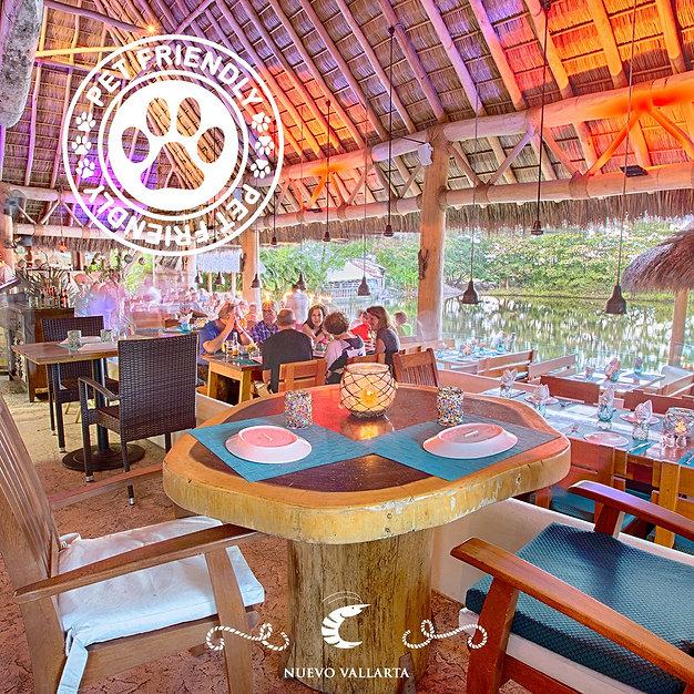 The Blue Shrimp Nuevo Vallarta Seafood restaurant