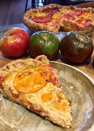 Dave's Famous Tomato Pie