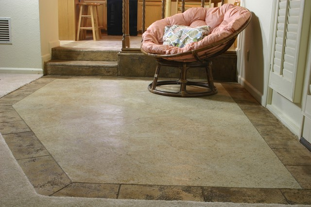 Custom Concrete Interior Flooring