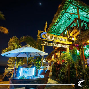 Entrance Blue Shrimp Puerto Vallarta