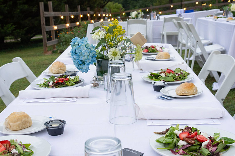 Wedding catering in Oxford and Anniston AL