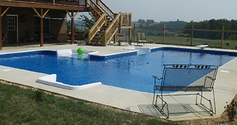 Dandridge TN swimming pool installations.  Jefferson City TN swimming pool contractors.  In ground swimming pool contractors in Sevierville TN.  Swimming pool installations in Gatlinburg TN