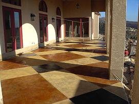 Panama City FL Decorative Interior Concrete and Acid Staining