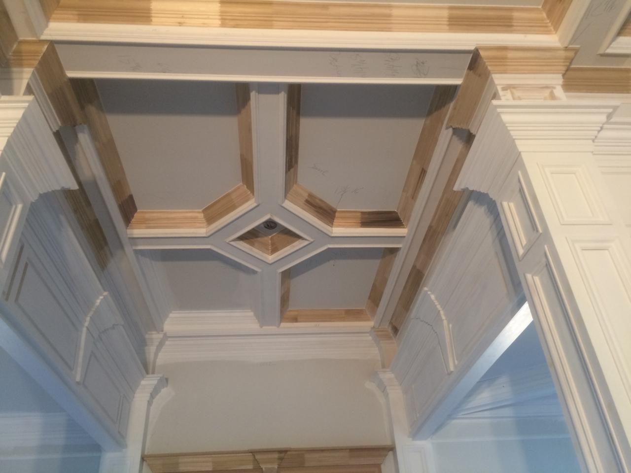 Custom inlaid Ceilings