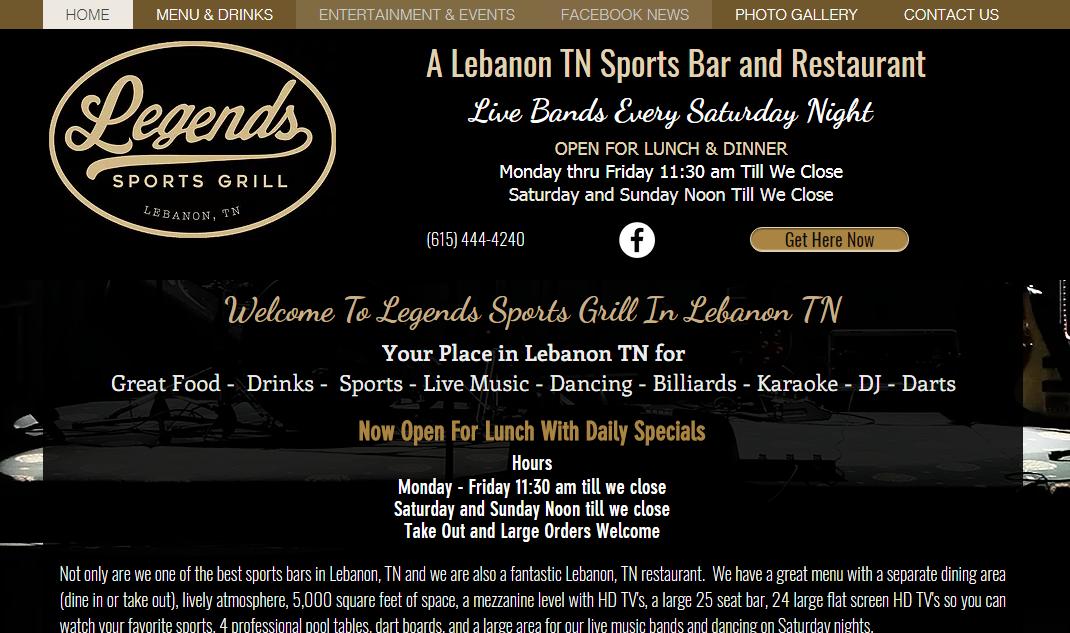 Legend's Sports Grill