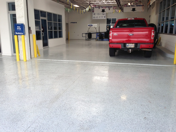 Custom and Durable Epoxy Floors