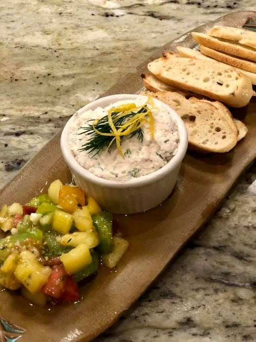 Smoked Trout Pate'