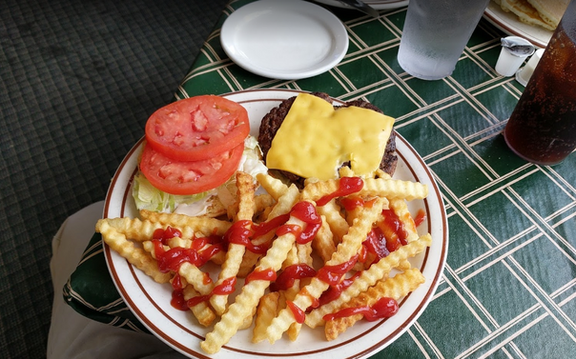 Atrium Cheese Burger