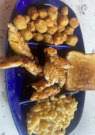 Bourbon Chicken Plate