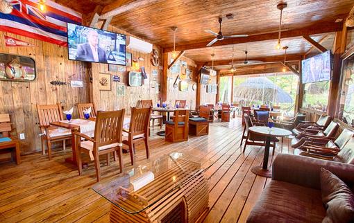 Sports Bar Nuevo Vallarta Blue Shrimp